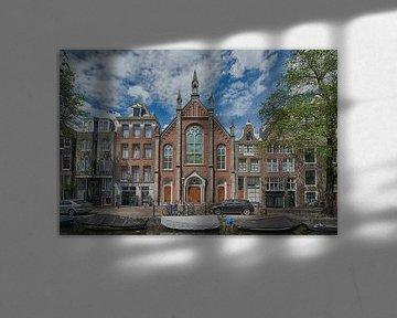 Kirche auf dem Bloemgracht in Amsterdam von Foto Amsterdam / Peter Bartelings