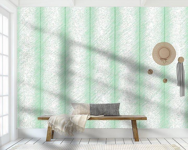 Sfeerimpressie behang: Groene verbindingen met de toekomst  van ART Eva Maria