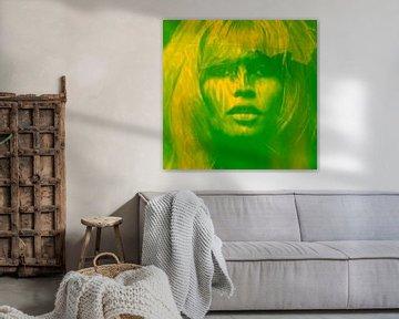 Brigitte Bardot - Love - 24 Colours - Strong Green - Game von Felix von Altersheim