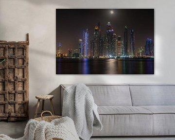 Skyline Dubai  von Nick Janssens