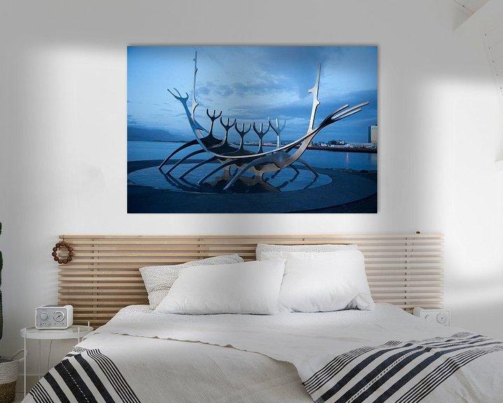 Sfeerimpressie: Solfar (Sun Voyager) in Reykjavik van Menno Schaefer