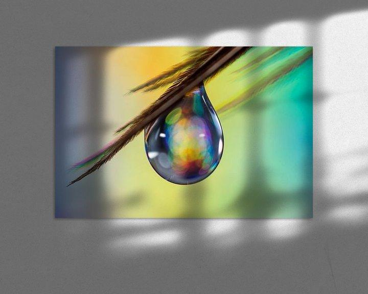 Sfeerimpressie: a Druppel aan veertje van Bert Nijholt