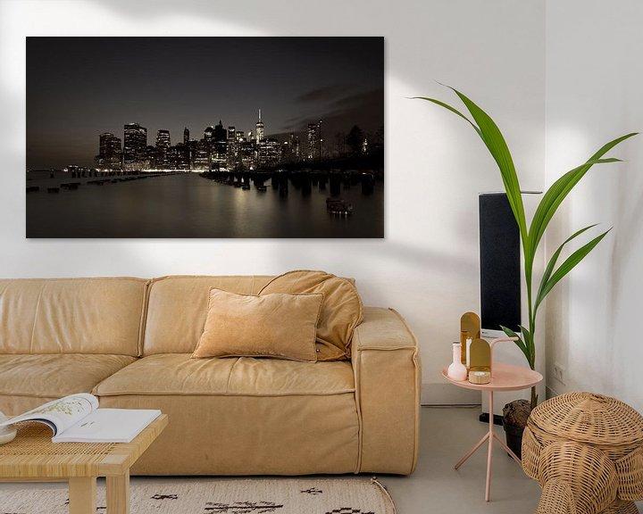 Sfeerimpressie: Skyline New York 4 van Bert Nijholt