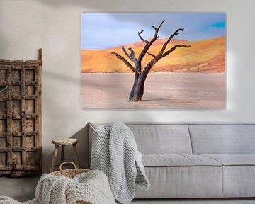Kunstzinnige wind in de woestijn... van Aisja Aalbers
