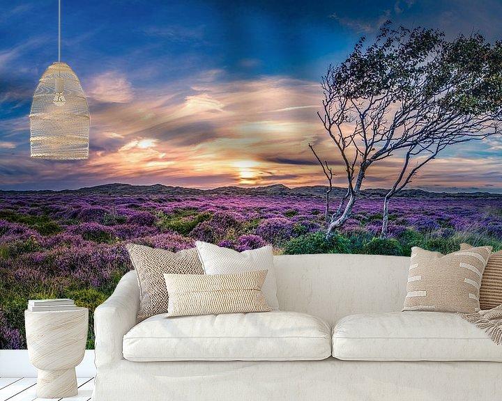 Sfeerimpressie behang: De Bollekamer Texel van Texel360Fotografie Richard Heerschap