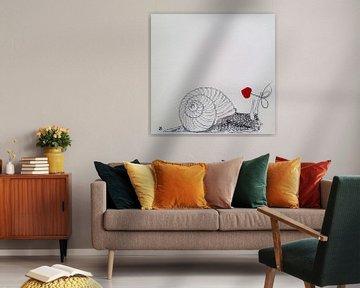 HeartFlow Slak von Helma van der Zwan