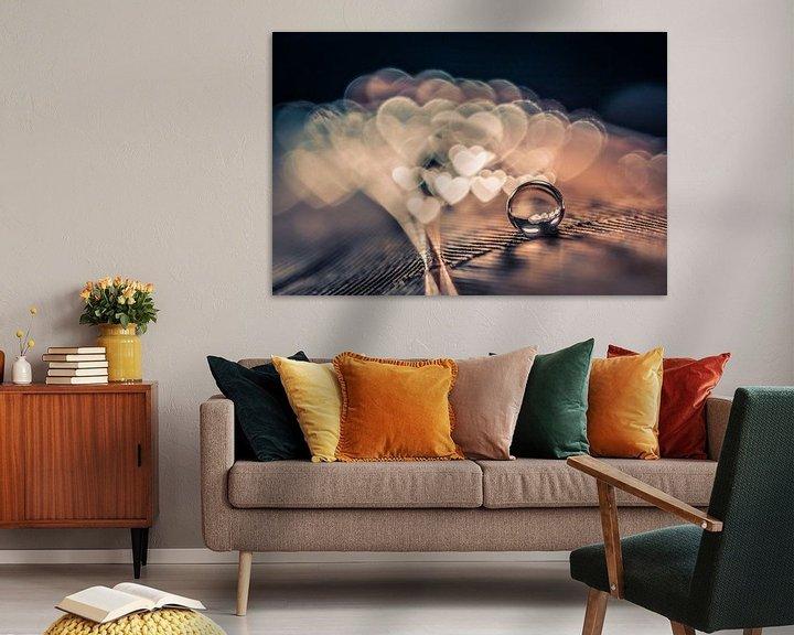 Sfeerimpressie: Druppel op veer van Bert Nijholt