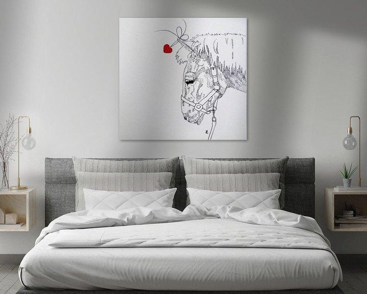 Sfeerimpressie: HeartFlow Paard van Helma van der Zwan