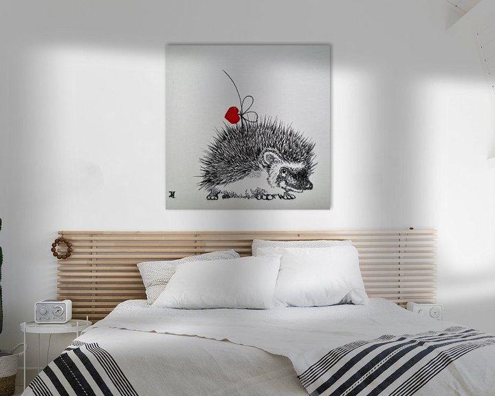 Impression: HeartFlow Hedgehog sur Helma van der Zwan