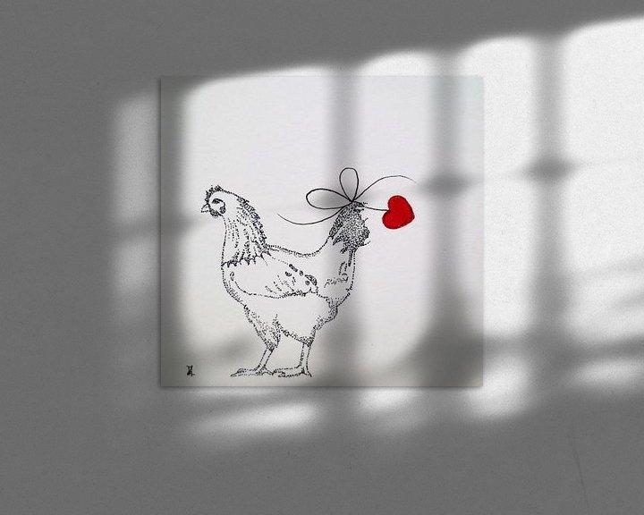 Impression: HeartFlow Chicken sur Helma van der Zwan