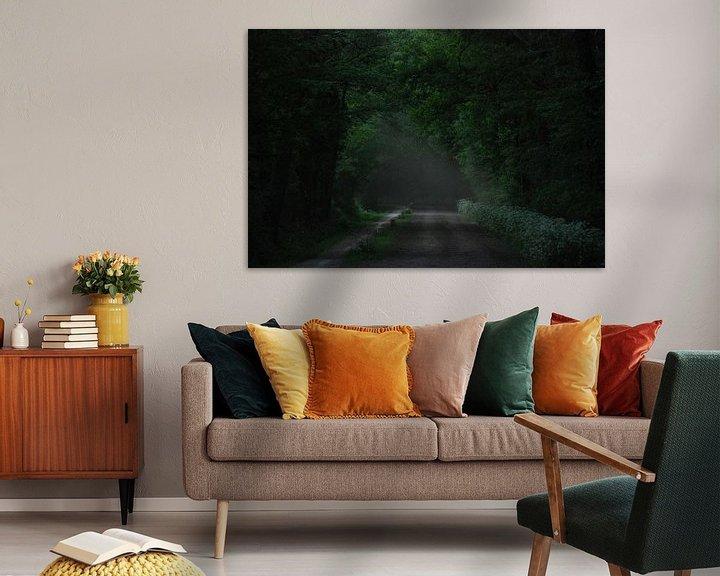 Sfeerimpressie: Darkgreen van Jenny de Groot