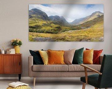 Three sisters bij Glencoe in Schotland
