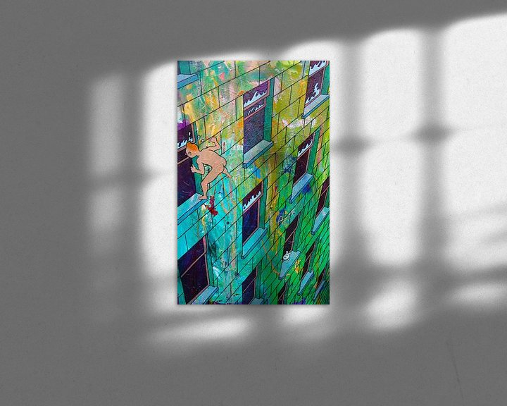 Sfeerimpressie: Kuifje betrapt / TinTin Caught van Frans Mandigers