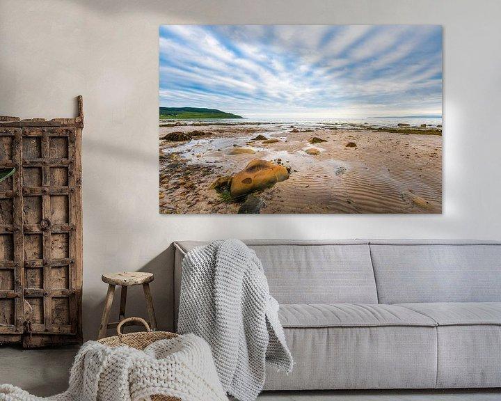 Beispiel: strand en lucht op Arran in Schotland von Rob IJsselstein