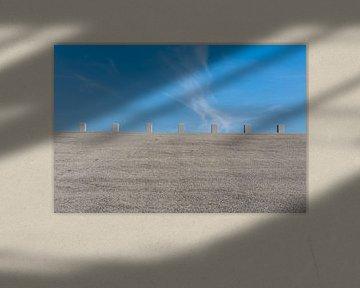 Blue sky castle van Patrick Herzberg