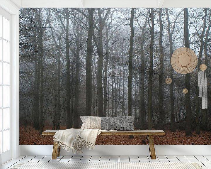 Sfeerimpressie behang: Peace van Jenny de Groot