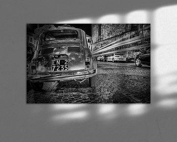 Fiat 500 in Italie van Mario Calma