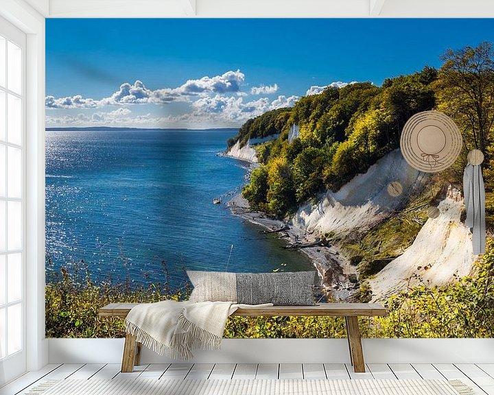Sfeerimpressie behang: Eiland Rügen Oostzee van Reiner Würz / RWFotoArt