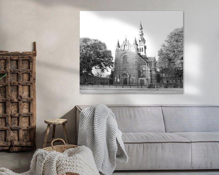 Sfeerimpressie: Laurentiuskerk te Heemskerk van Fela de Wit