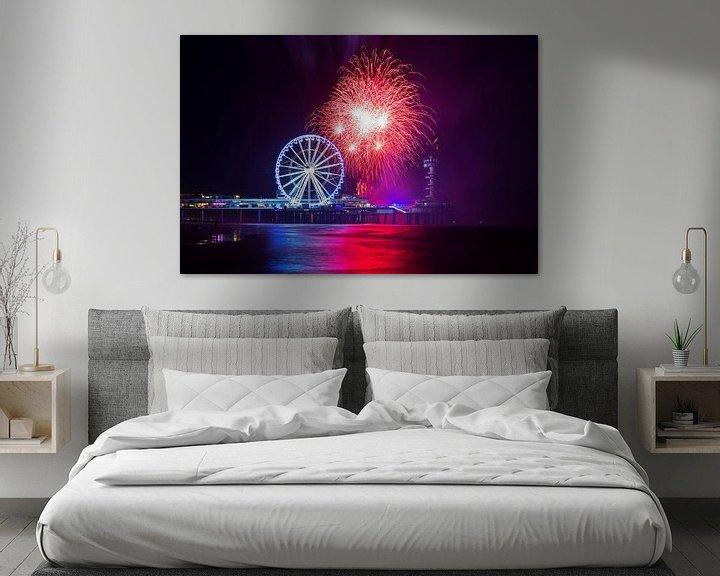 Beispiel: Das International Fireworks Festival Scheveningen von Anton de Zeeuw