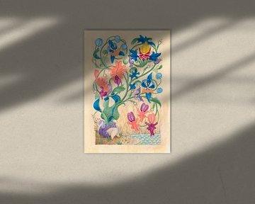 Flora manuskriptum von Anouk Maria van Deursen