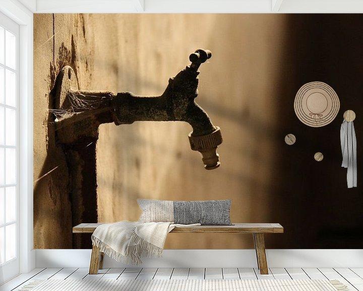 Sfeerimpressie behang: Oude kraan van Rianne Fotografeert