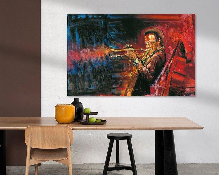 Sfeerimpressie: Miles Davis van Frans Mandigers