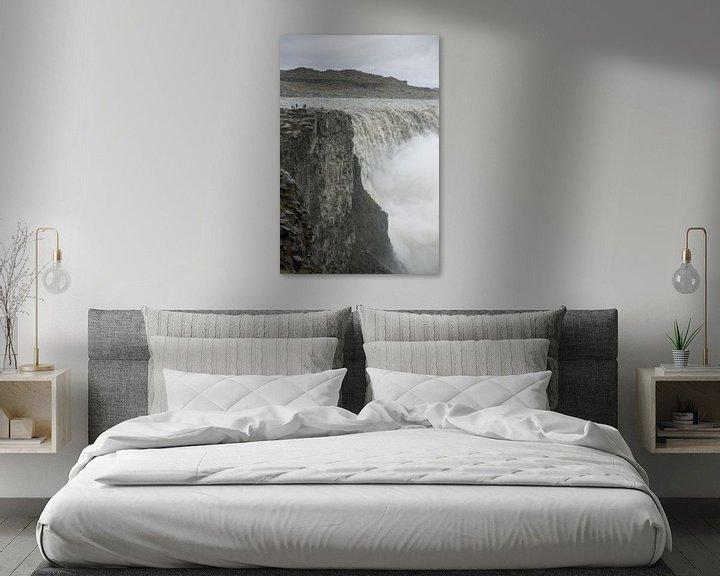 Beispiel: Detifoss waterval IJsland von Menno Schaefer