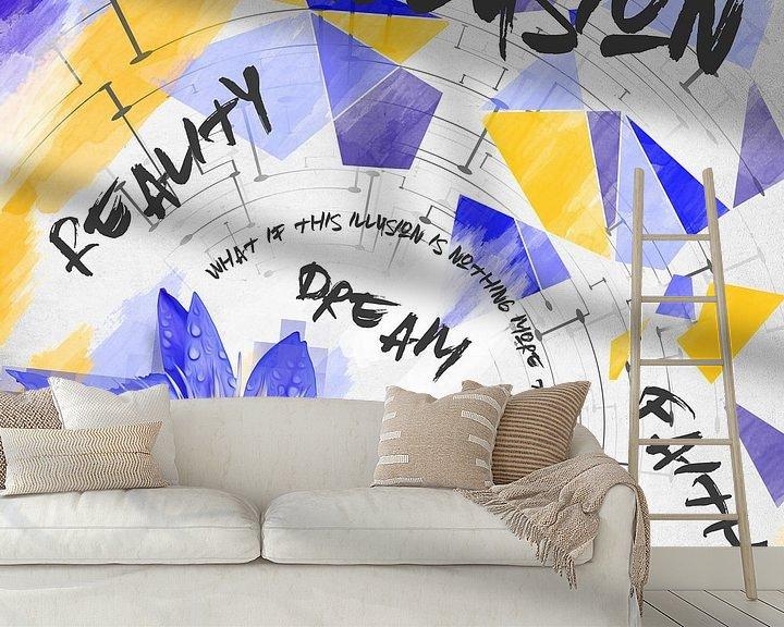 Sfeerimpressie behang: Illusion van Sharon Harthoorn