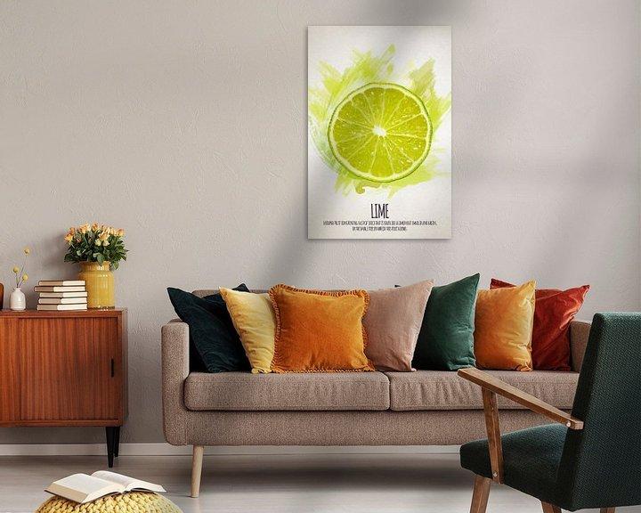 Sfeerimpressie: Fruities Limoen van Sharon Harthoorn