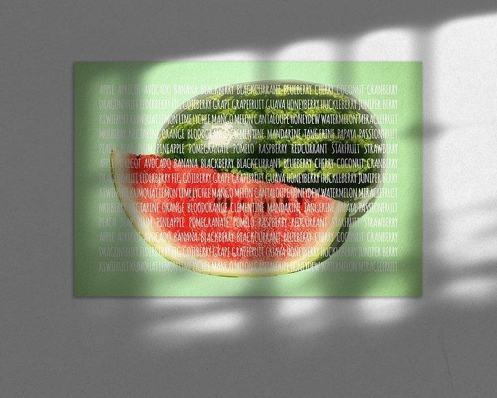 Sfeerimpressie: Fruities in kleur Watermeloen van Sharon Harthoorn