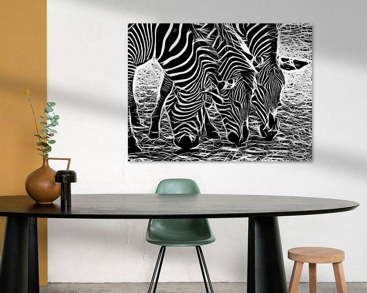 Beispiel: Zebra von Karl-Heinz Lüpke