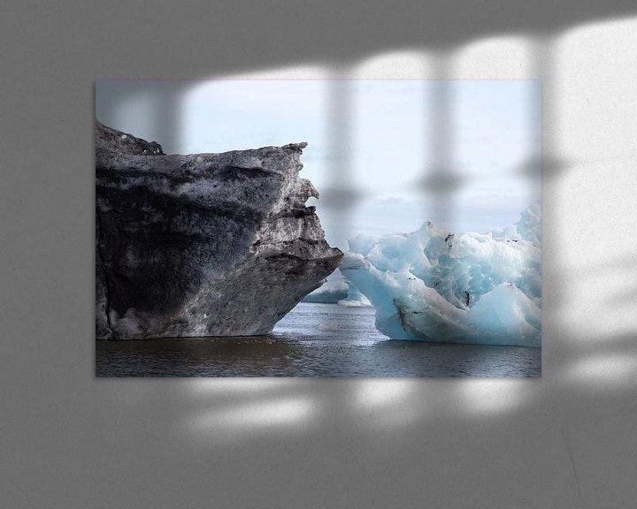Sfeerimpressie: IJsmeer Jokulsarlon IJsland van Menno Schaefer