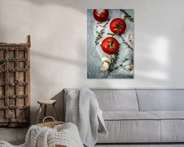 Sfeerimpressie: Tomaten van Nina van der Kleij