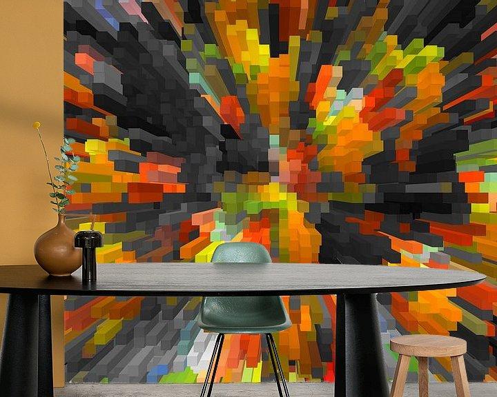 Beispiel fototapete: Blocks 32 von Marion Tenbergen
