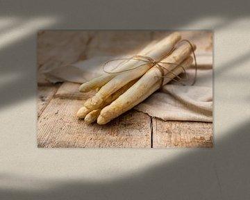 Witte asperges van Nina van der Kleij