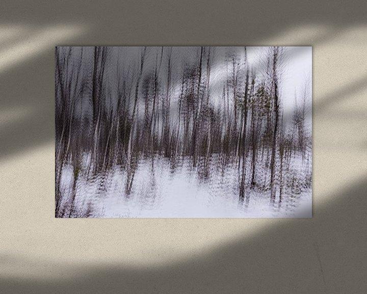 Sfeerimpressie: Abstract Taiga van Claudia van Zanten