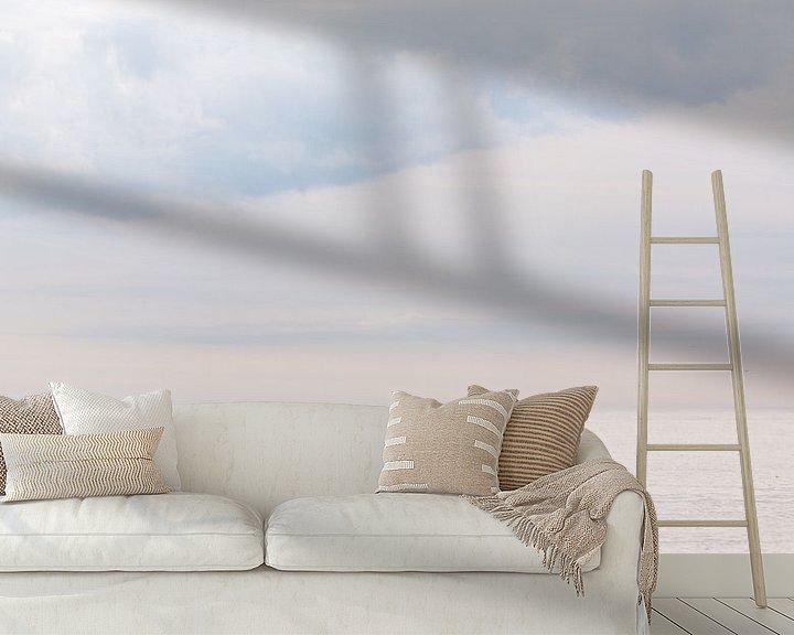 Sfeerimpressie behang: Seascape van Claudia van Zanten