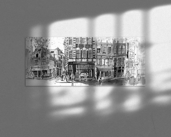 Sfeerimpressie: Zeedijk, Amsterdam van Christiaan T. Afman