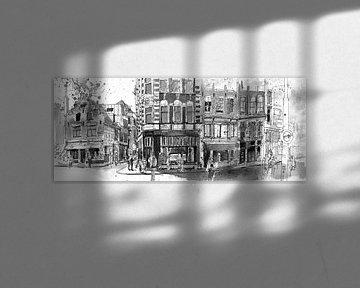 Zeedijk, Amsterdam von Christiaan T. Afman