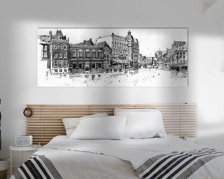 Sfeerimpressie: Doelen Hotel, Amsterdam van Christiaan T. Afman