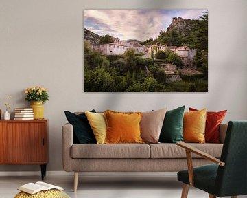Dorf in den Bergen. von Roman Robroek