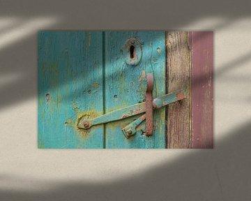 Oude deurklink van Willem Visser