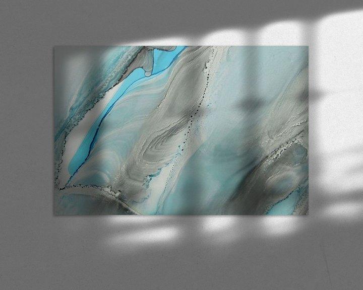 Sfeerimpressie: Deep waters II van Carla Mesken-Dijkhoff