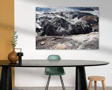 Gletsjer hiking op Vatnajokull von Menno Schaefer