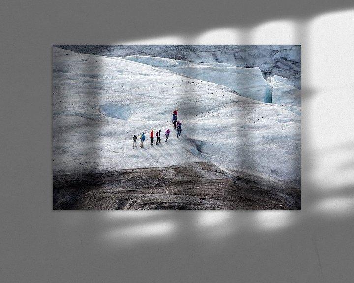 Impression: Gletsjerwandeling op Vatnajokull sur Menno Schaefer