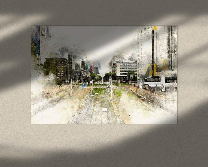 Beispiel: Hofplein, Rotterdam von Arjen Roos