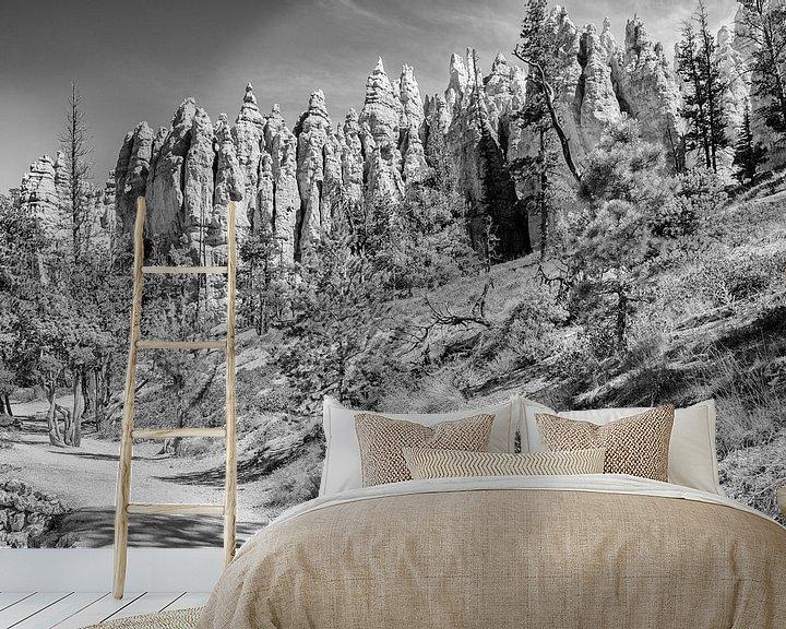 Beispiel fototapete: Bryce Canyon National Park von Loek van de Loo
