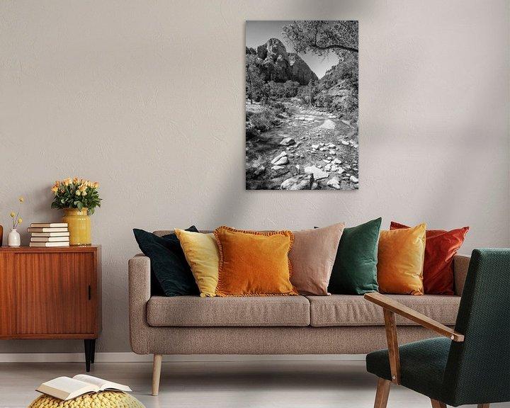 Beispiel: Zion National Park von Loek van de Loo