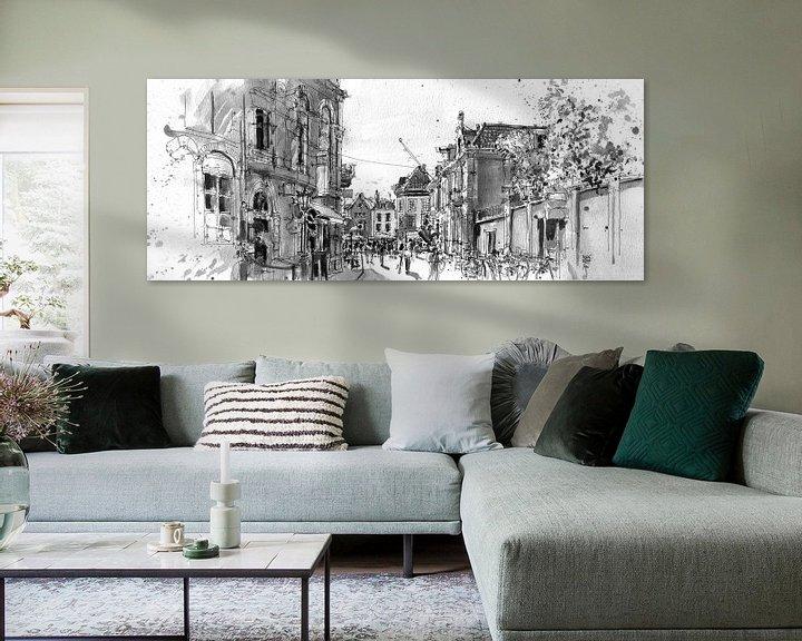Sfeerimpressie: Wed, Utrecht van Christiaan T. Afman